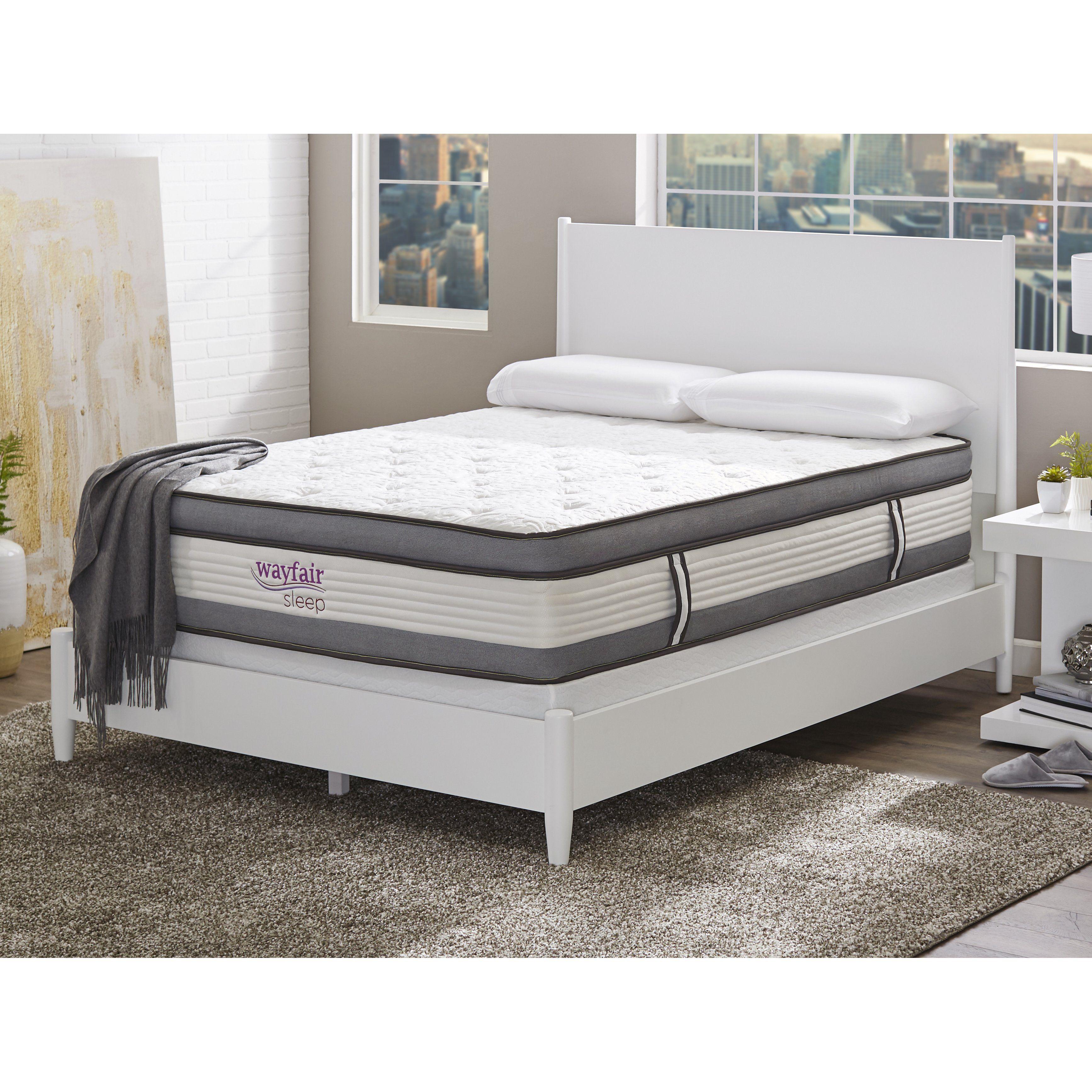 """Sleep 14"""" Firm Hybrid Mattress Mattress, Adjustable beds"""