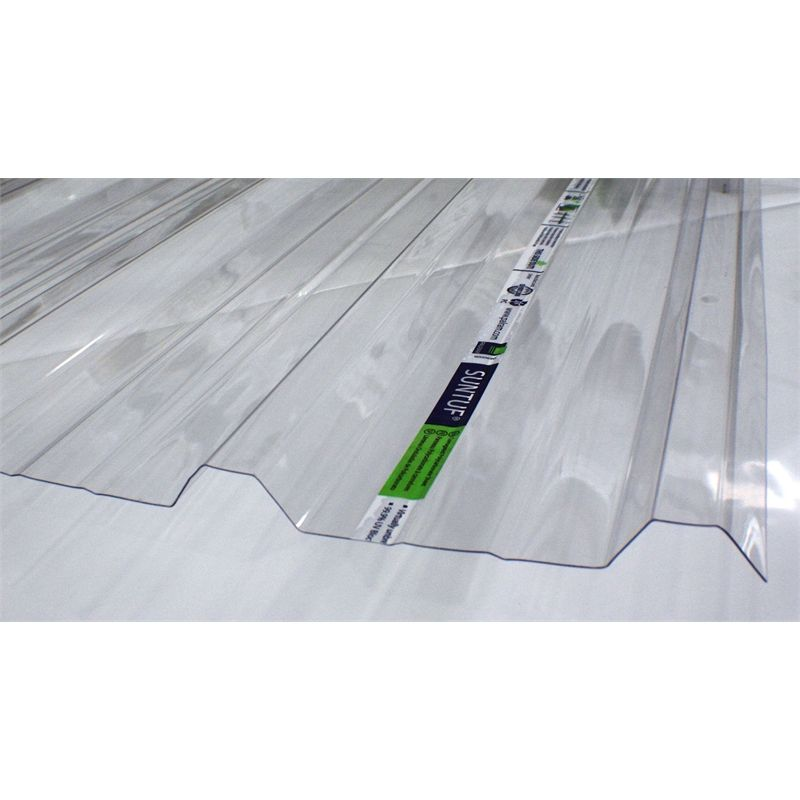 Suntuf Trimdeck Polycarbonate Roofing Sheet 2 4mtr Clear Roofing Roofing Sheets Polycarbonate