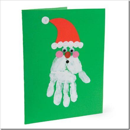 tarjetas manos niños pintadas - Buscar con Google Regalo