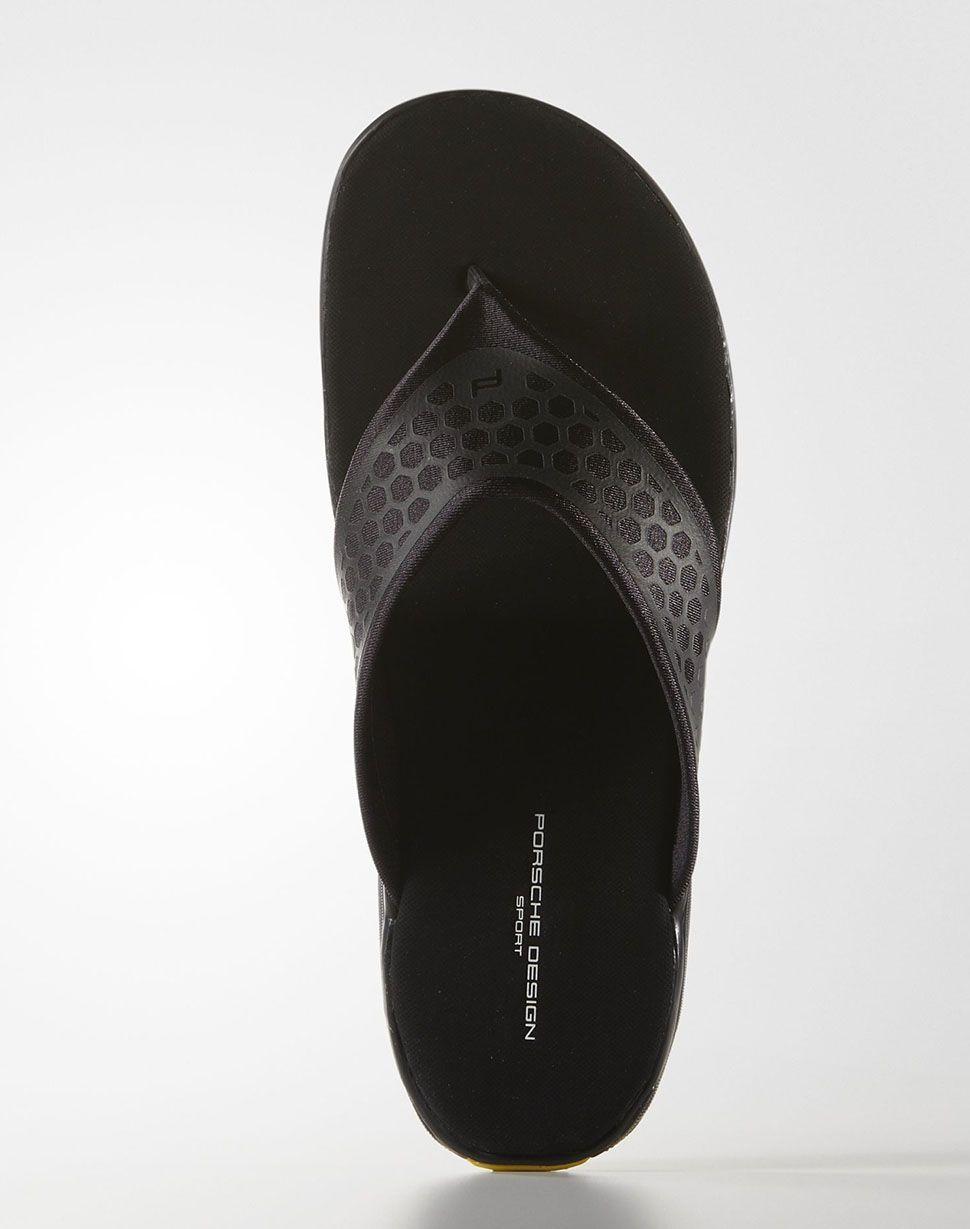 "los angeles 57ddd fe2de Porsche Design Sport by adidas Summer Slides ""Core Black ..."