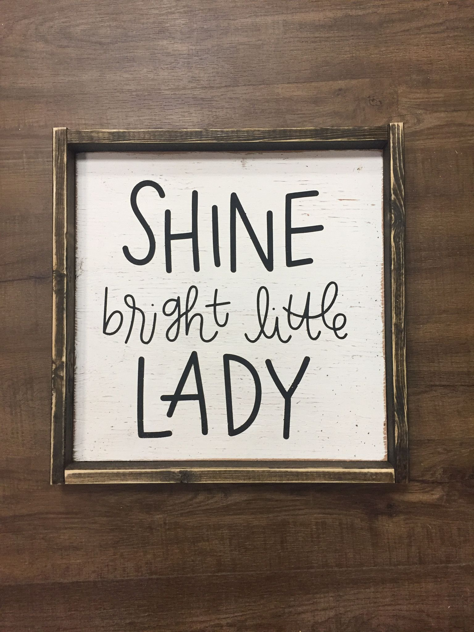 Shine Bright Little Lady images