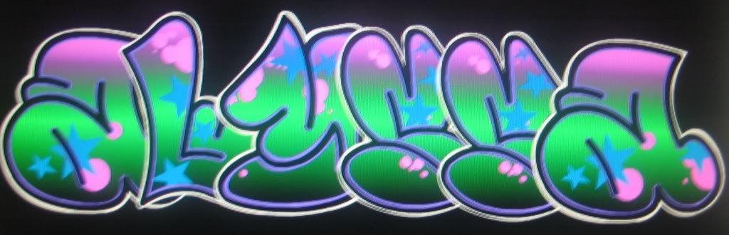 The Name Alyssa in Graffiti alyssa