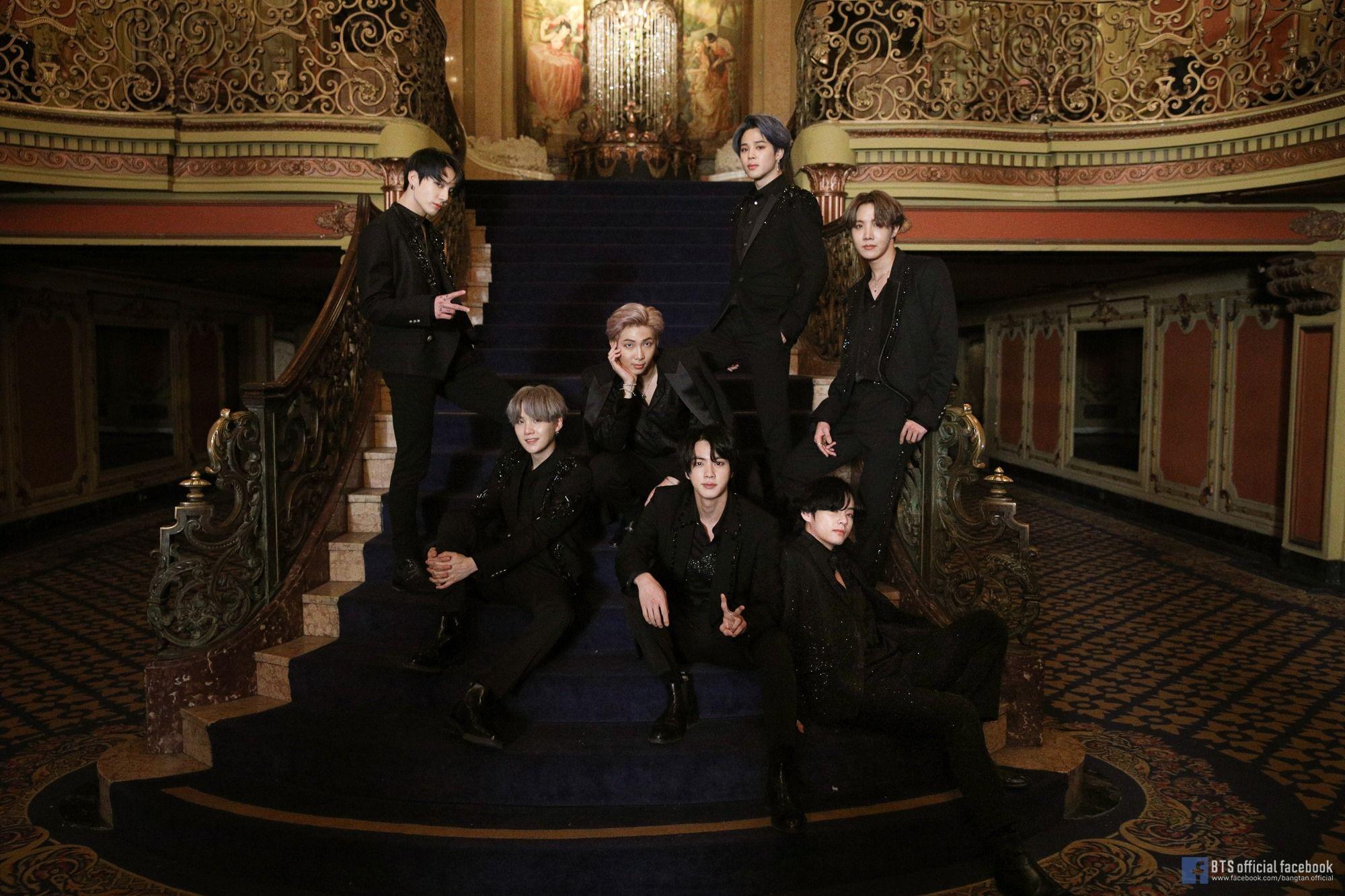 Bts 방탄솜년단 black swan official mv photo sketch in 2020