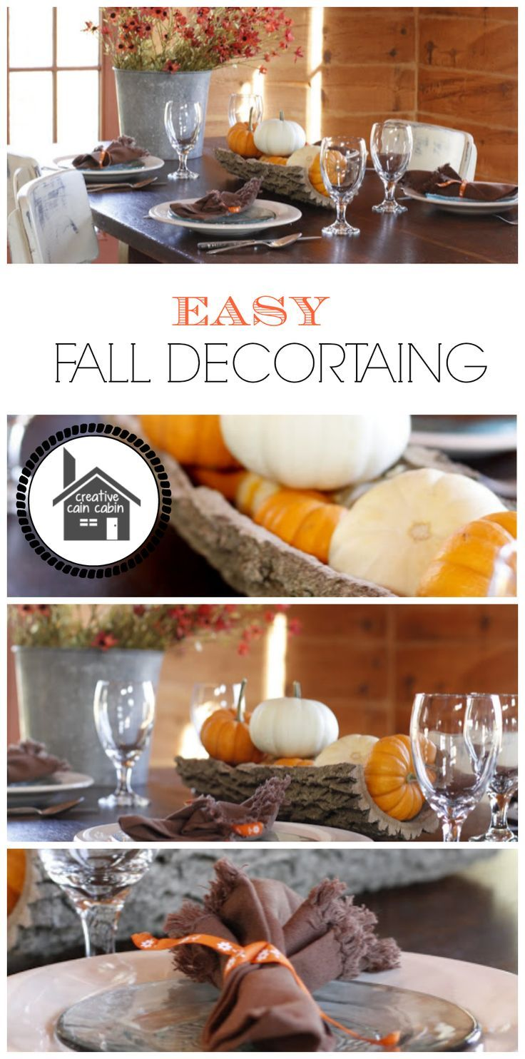 Lovely DIY:: Get Ready ! Easy Fall Home Decor !! (This List Is