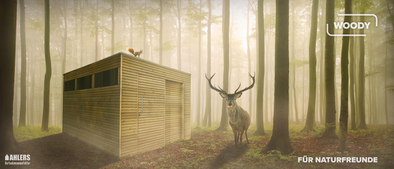 Beim Woody trifft natürliches Lärchenholz auf modernes