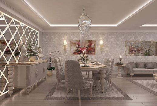 imagem pode conter mesa  area interna traditional dining rooms room design also home in decor rh pinterest