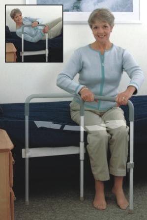 Healthcraft Smart Rail System Bed Safety Rail Bed Transfer Aid Con Imagenes Discapacitados Ancianos