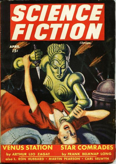Science Fiction cover 1943.