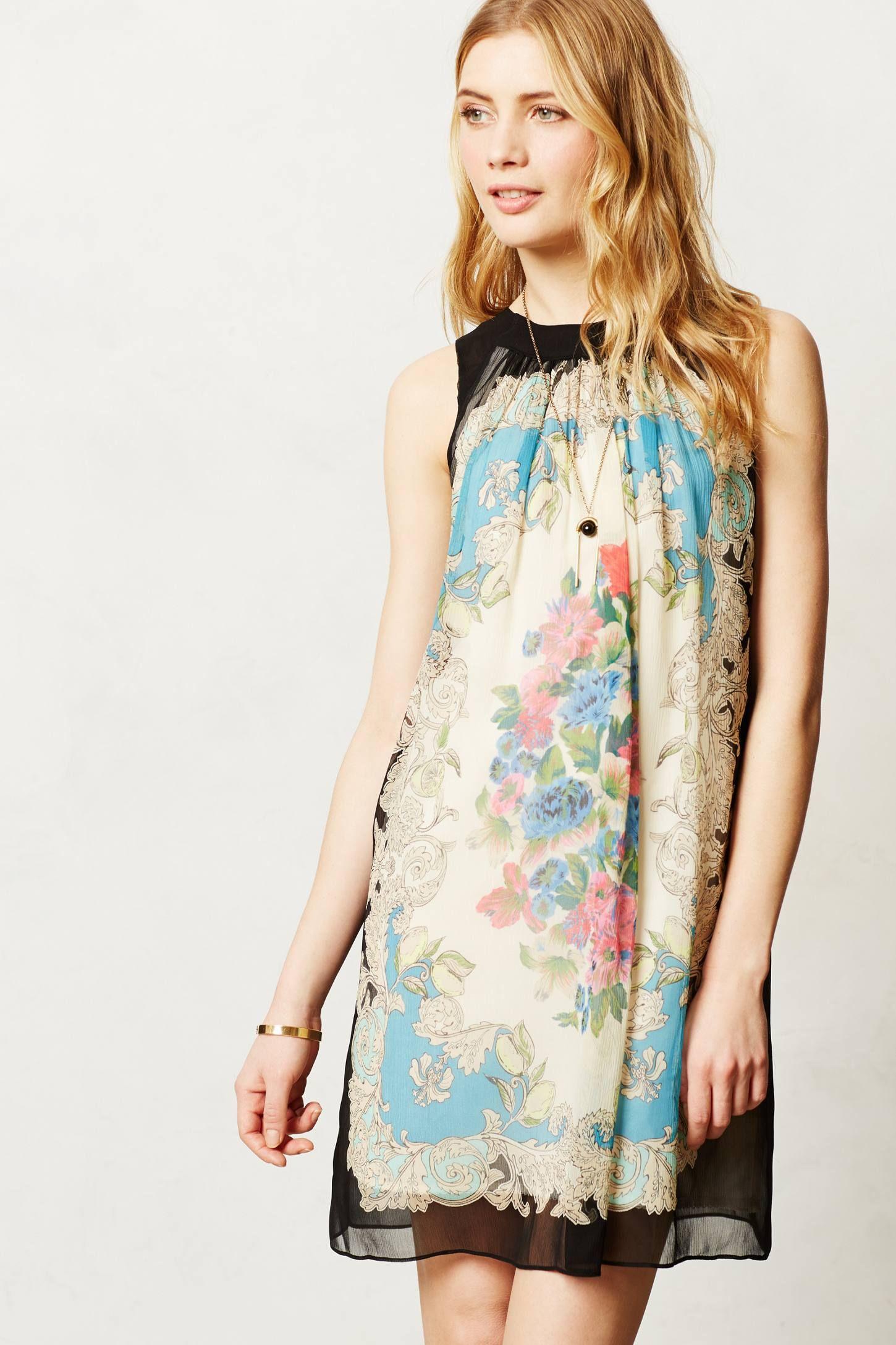 Flora Vignette Dress - anthropologie.com (Front) SO CUTE