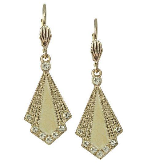 Art Deco Inspired Earrings 1920s Style Jewellery 15