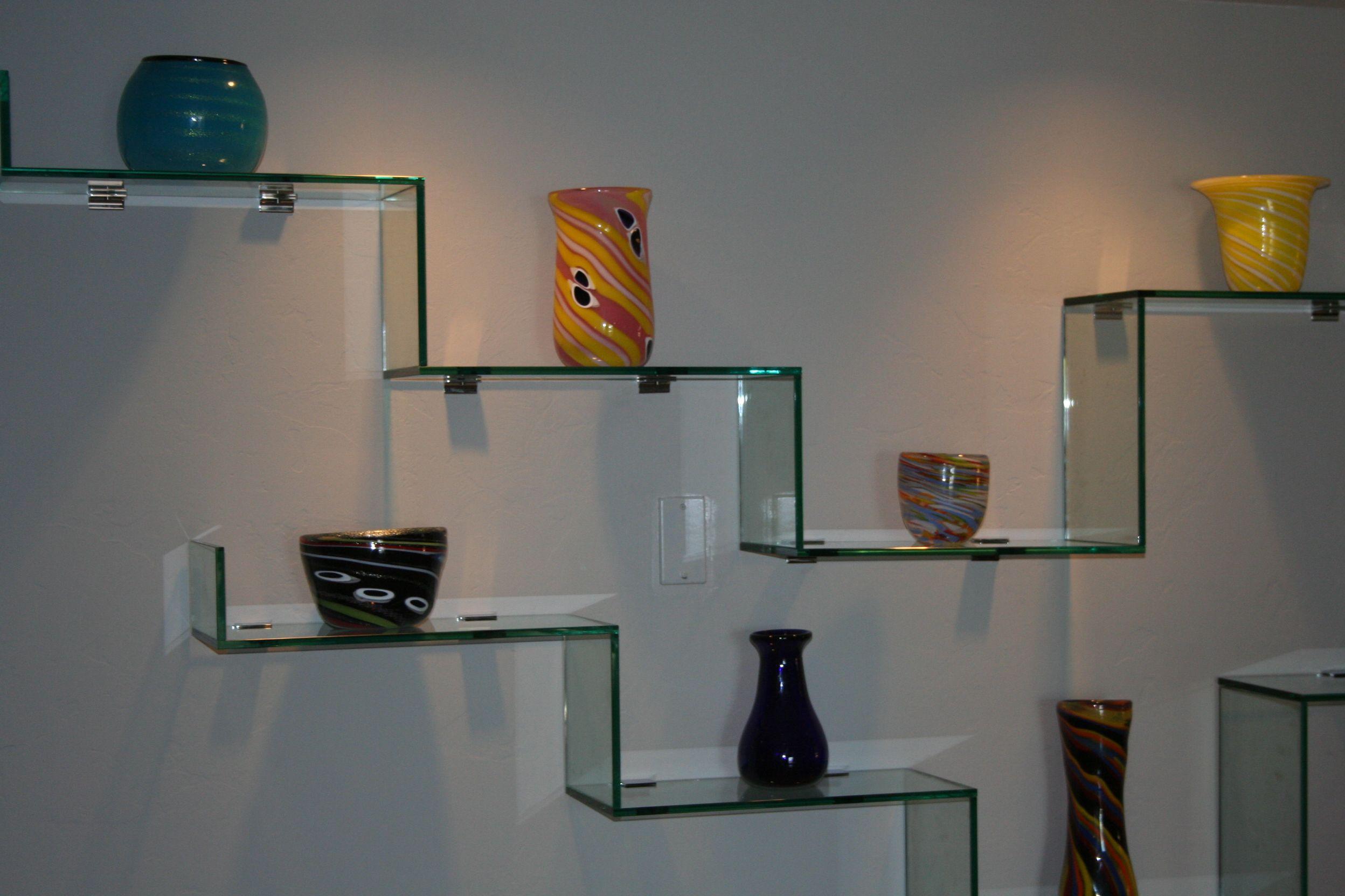 Custom Glass Shelving