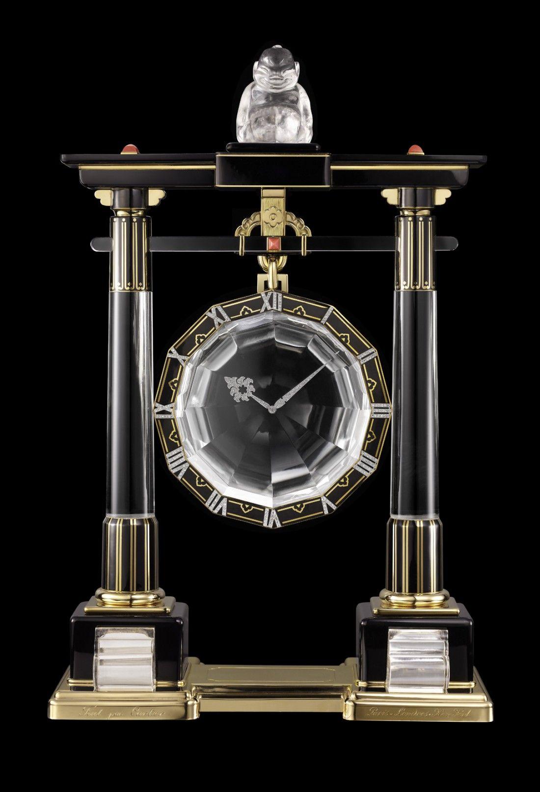 Pendule mystérieuse cartier 1923 mystery clock classic clocks modern clock