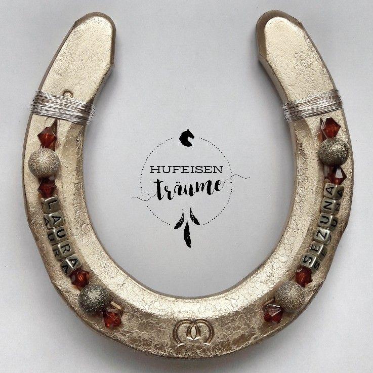 Gluckseisen Mit Namen Ein Tolles Geschenk Fur Pferdeliebhaber Ein