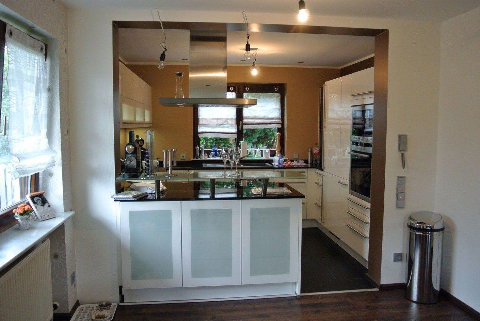 kleines wohnzimmer mit offener k che #decorationcuisine # ...