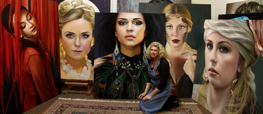 Awesome realistic paintings by Christiane Vleugels 27