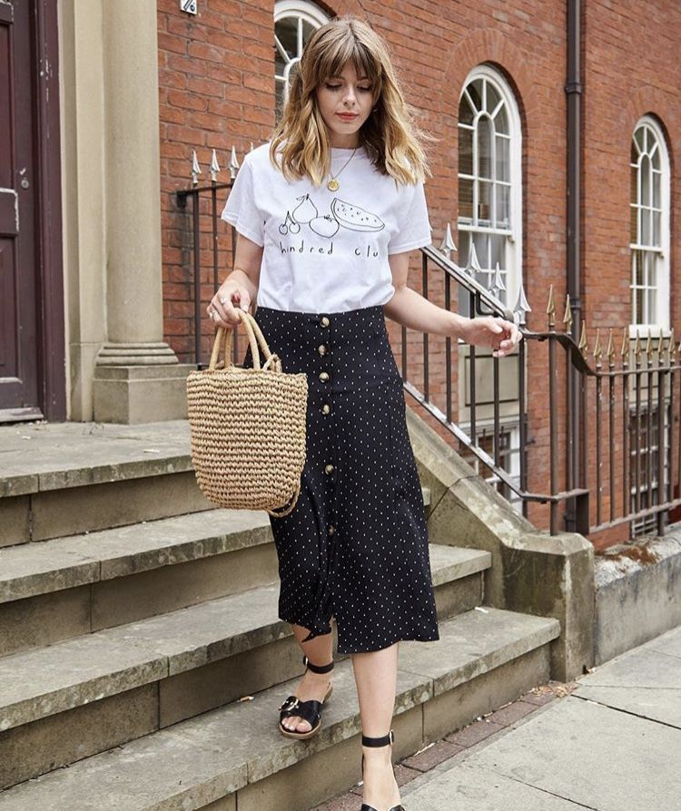 Susannah Wrap Midi Skirt | Midi skirt, Long skirt outfits