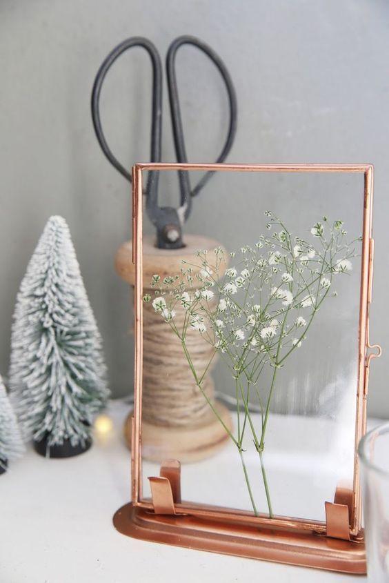DIY} Blumenpresse selbstgemacht Dried pressed Flower Pinterest