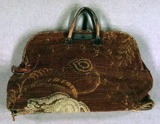 Carpet Bag Technique Woven Gift Of Mary M Kenway From