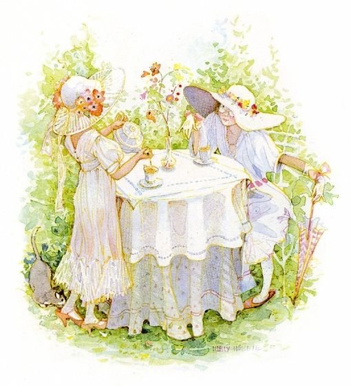 Tea in the garden - Holly Hobbie