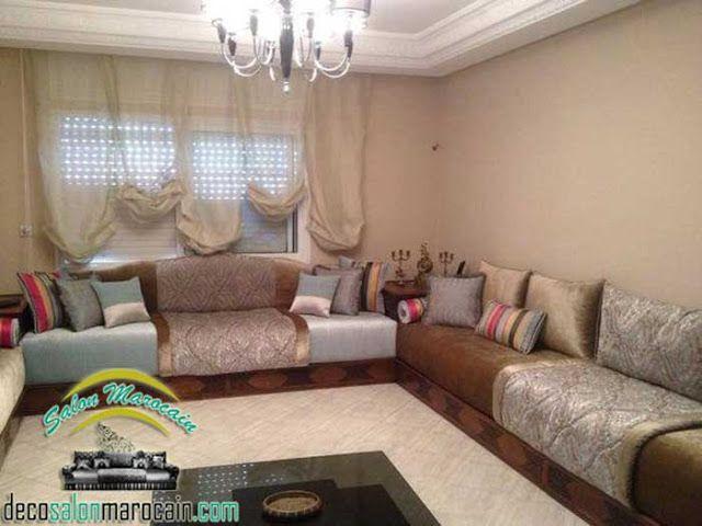 Salon Marocain Top style Salon marocain moderne de haute ...