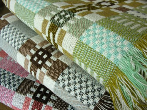 Welsh Double Cloth blankets from Tinsmith UK