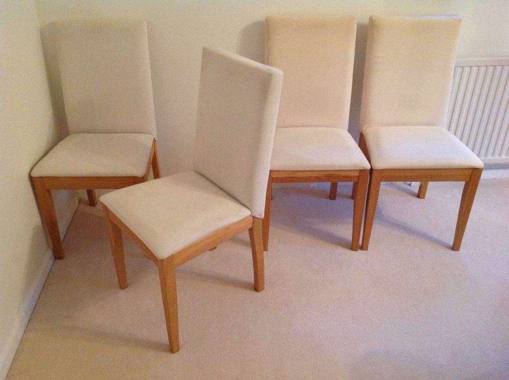 4 Habitat Oslo Dining Chairs