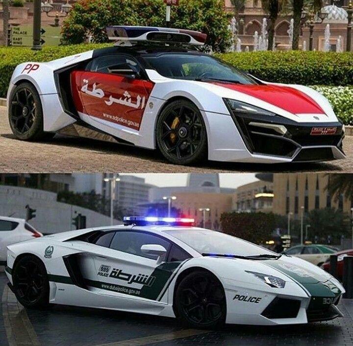 Abu Dhabi Police (Top) & Dubai Police (Bottom)...