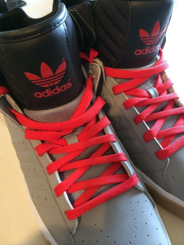 Hambre Síguenos Santuario  Adidas evh 791004 11/12 brand new size 13 color gray black red mixed #adidas  #BasketballShoes | Hoka running shoes, Online seller, Stuff to buy