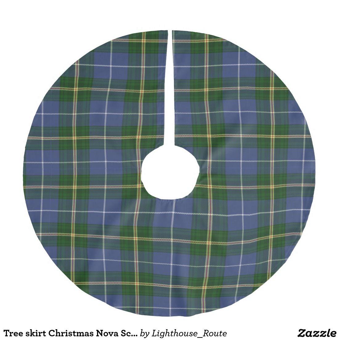 Tree Skirt Christmas Nova Scotia Tartan