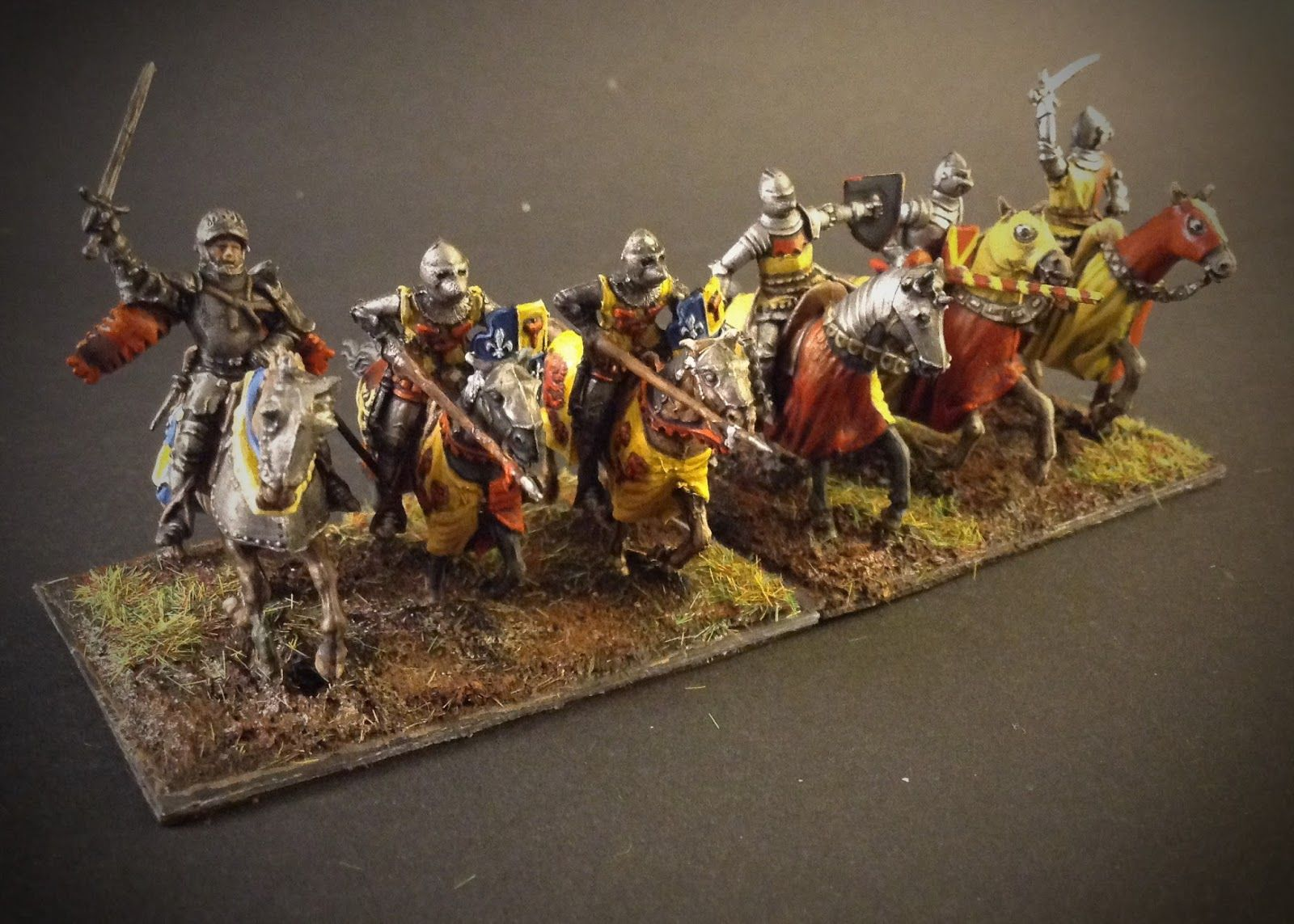 French medieval Knights