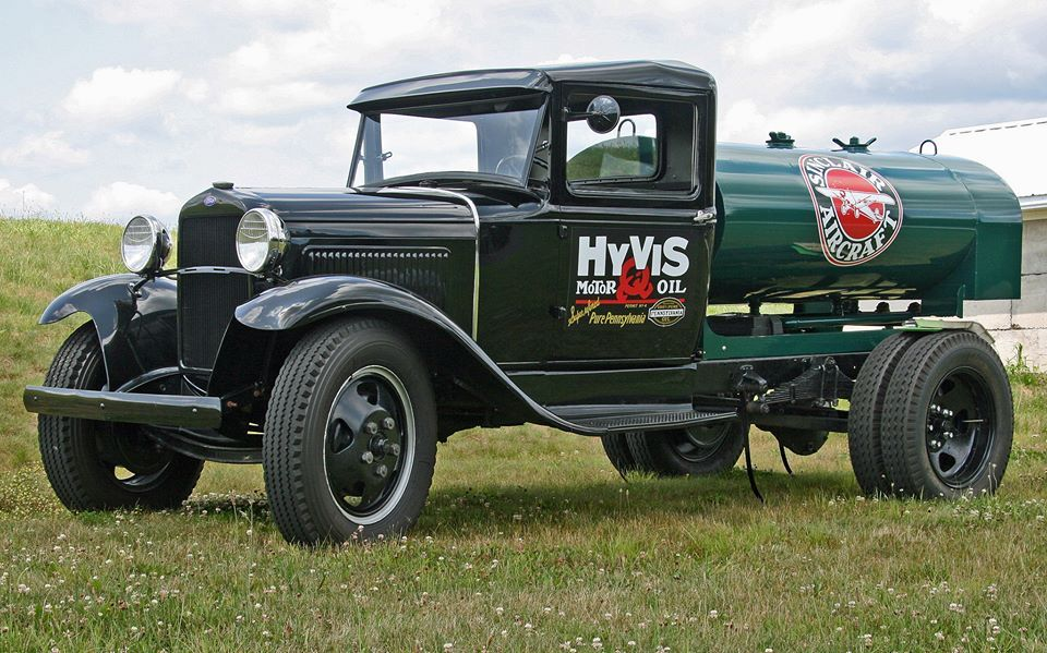 '31 AA Gas Tanker. (With images) Fuel truck, Old ford