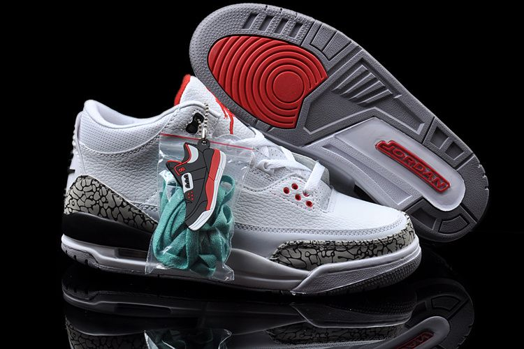 pretty nice b1310 7b026 Wholesale Air Jordan 3 88 Retro White Cement For Sale ...