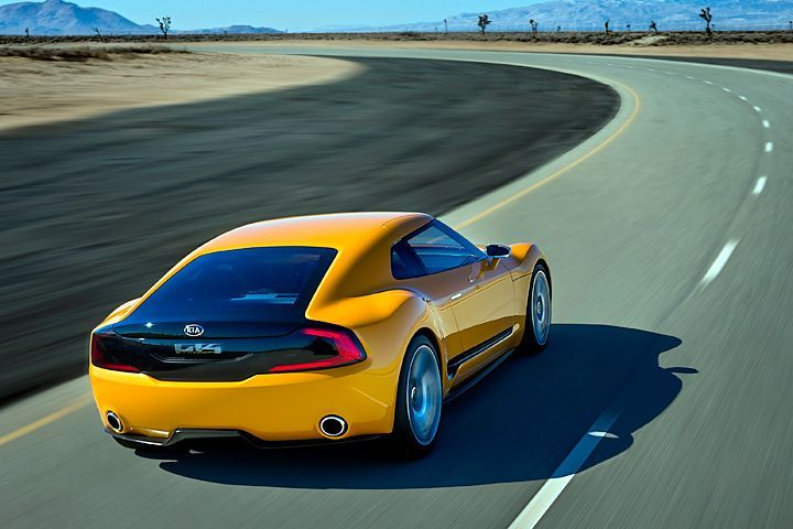 High Performance Kia Sedan And Stinger Coupe Rumored For 2018 Kia Kia Stinger Car