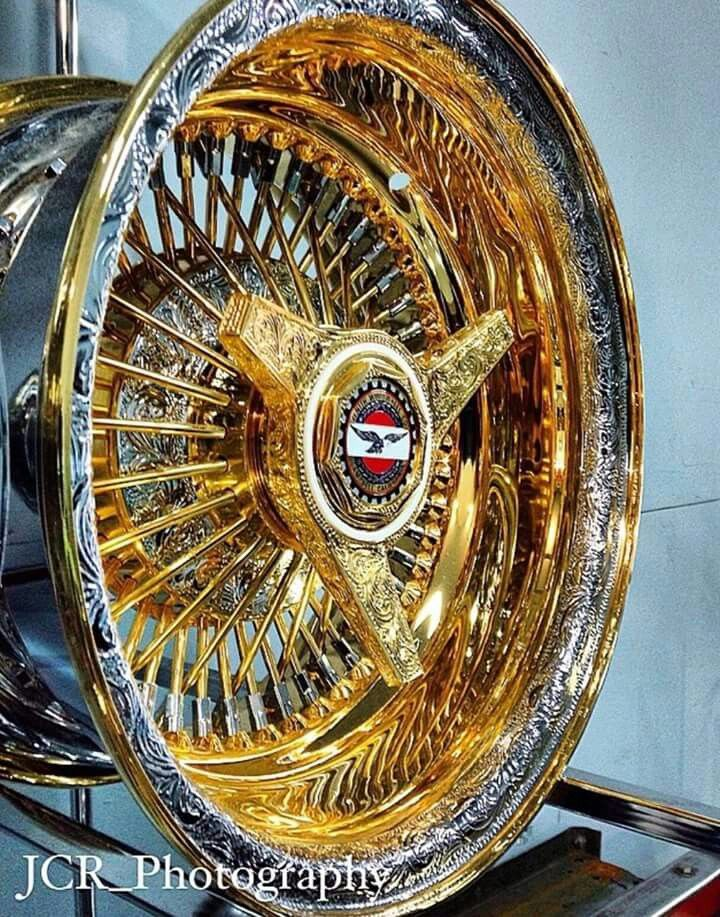 Engraved Lil Gold Wheel Rims Rims For Cars Custom Cars