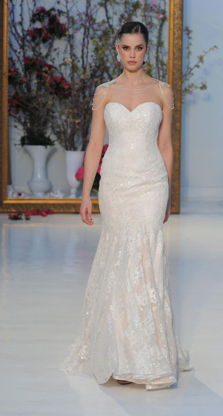 Anne Barge Spring 2017 Wedding Dress | I take you #weddingdress #bridalgown