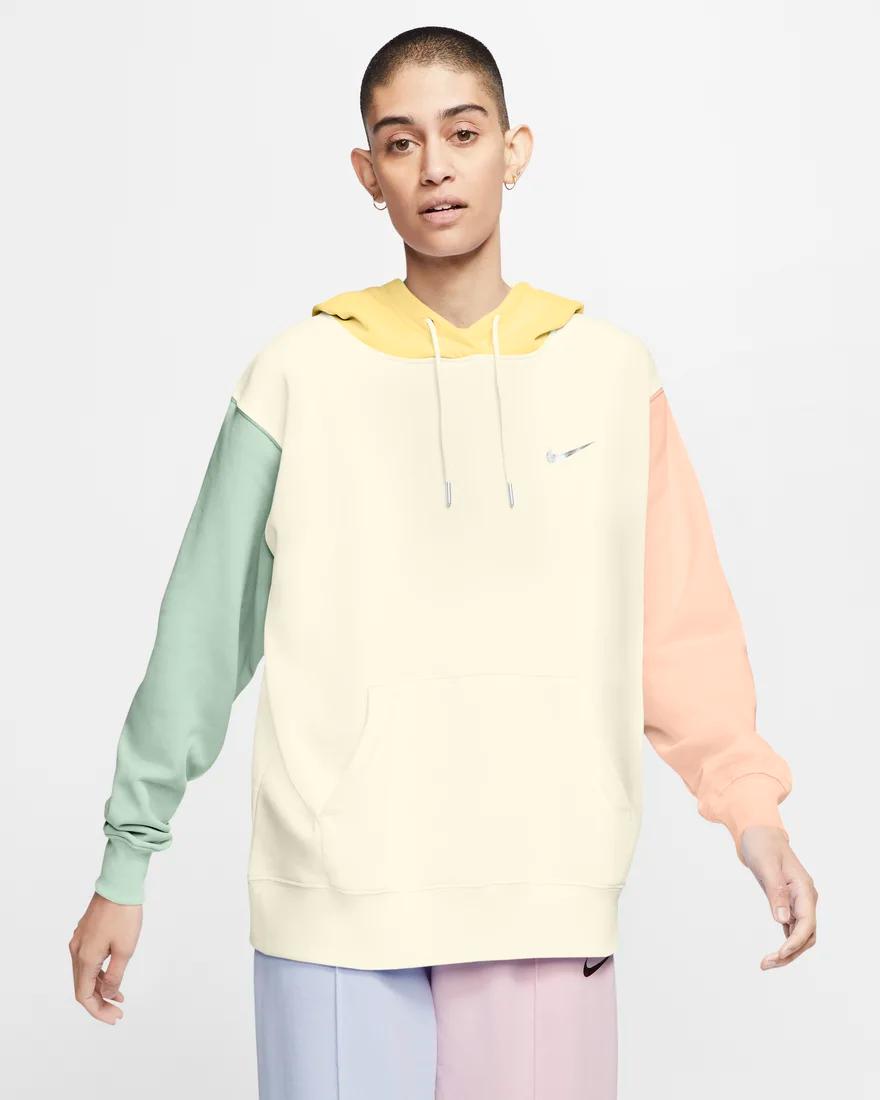 Nike Swoosh Hoodie Sweatshirt White Nike Sweatshirt Outfitters Clothes White Nike Hoodie [ 1463 x 976 Pixel ]