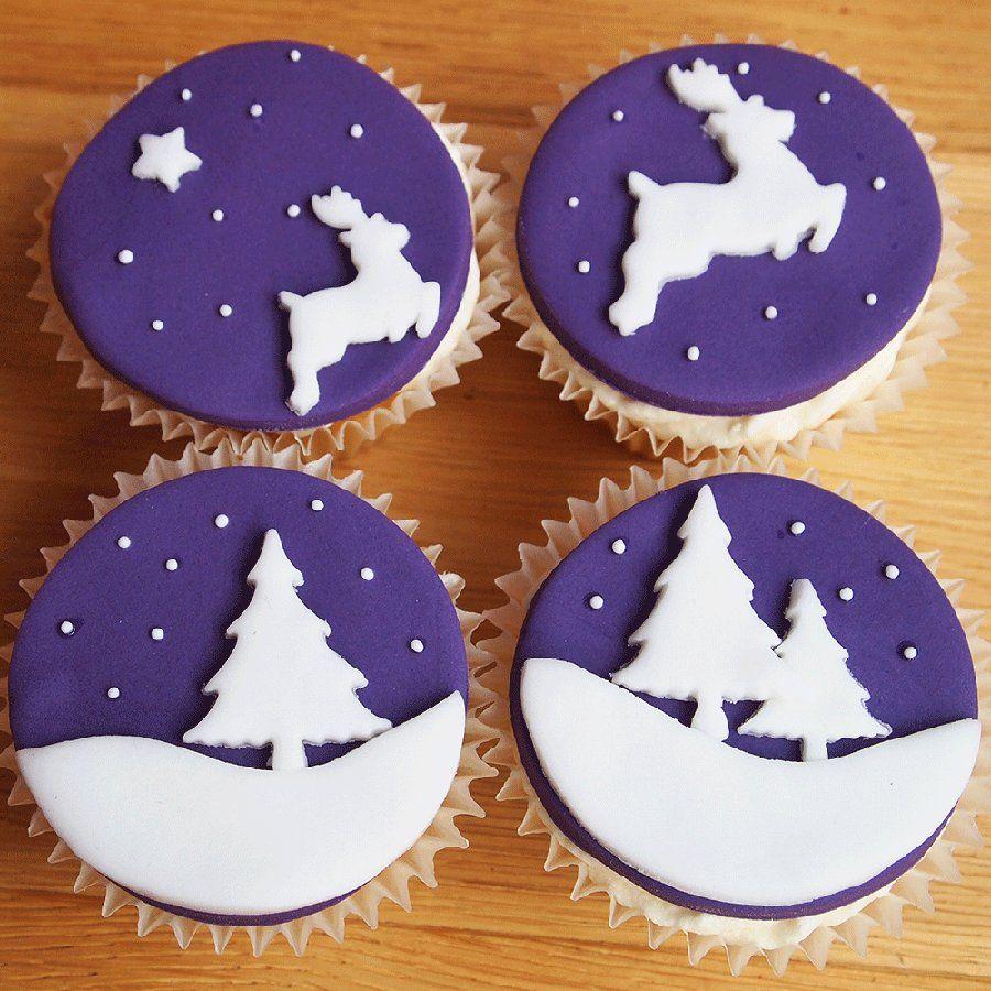 christmas cupcake decorating ideas | Christmas cookies decorated, Christmas cupcakes decoration, Cupcakes decoration