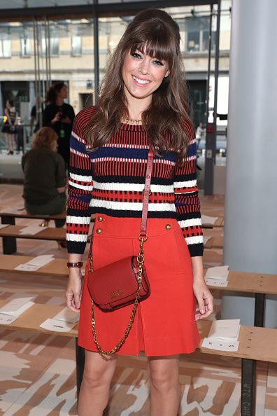 Blogger Jenny Cipoletti attends the Tory Burch fashion show during New York Fashion Week at The Whitney Museum of American Art on September 13 2016...