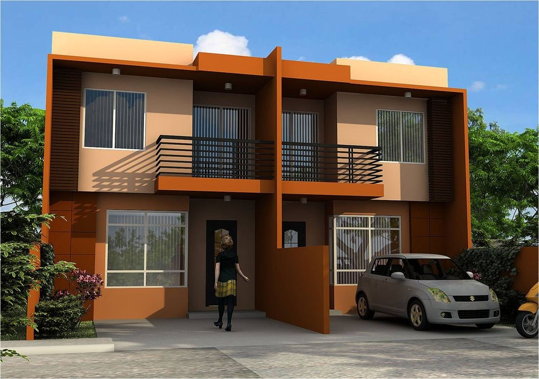 Duplex Apartment Design Philippines Duplex House Design
