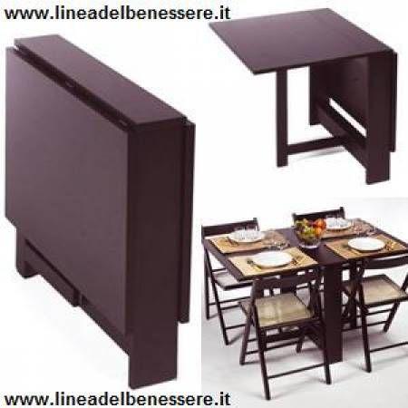 Tavolo Con Sedie Incorporate Ikea.Tavolo Allungabile E Pieghevole A Muro Cerca Con Google