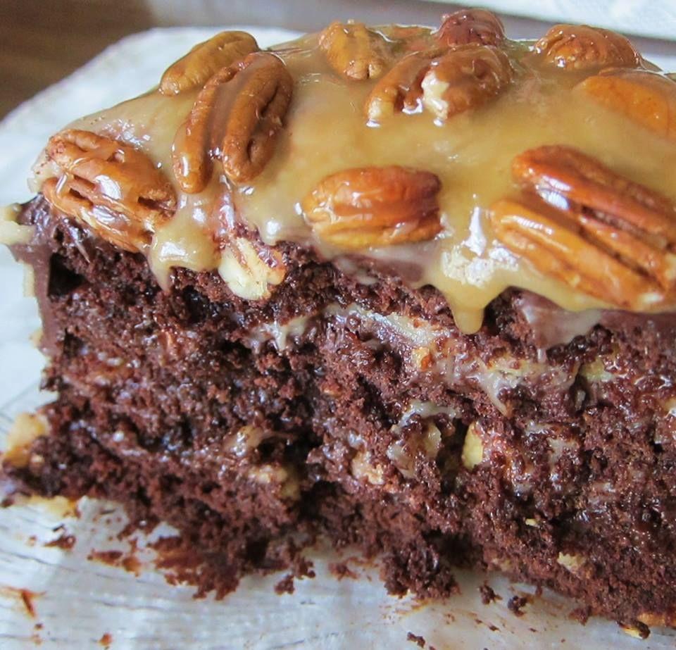 Turtle Cake recipe. ~ good recipes