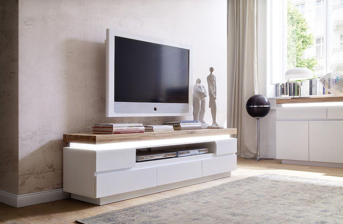 living room tv - Meuble Tv Blanc Glossy