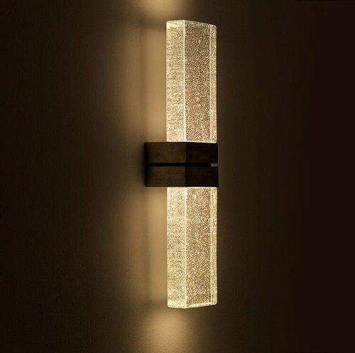 applique murale contemporaine rectangulaire en verre led grand papillon duo. Black Bedroom Furniture Sets. Home Design Ideas