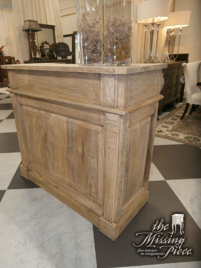 Free Standing Bar Counter Created From Solid And Heavy Sheesham Wood Perfect Size For That Smaller E You Need To Fill