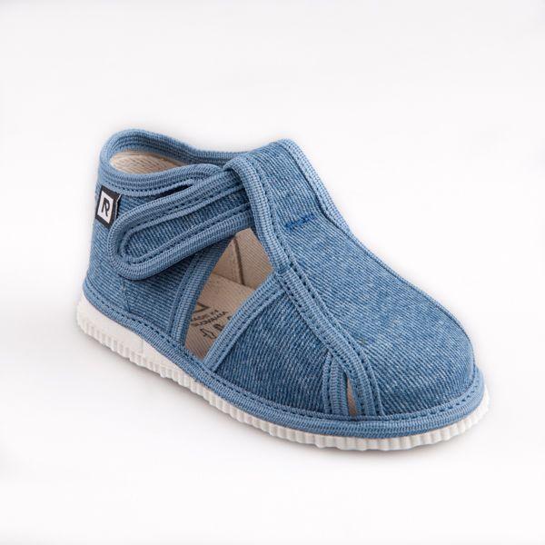 fd7cb6e05cf Detská obuv - papuče s uzavretou špicou riflové - Prezuvky.sk - detské  sandálky