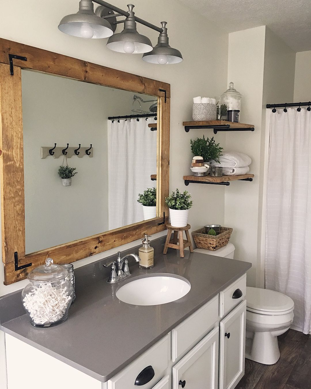 B O S T O N On Instagram A Little Before And After Master Bathroom Transformation It S Not The Biggest C Fancy Bathroom Simple Bathroom Restroom Decor