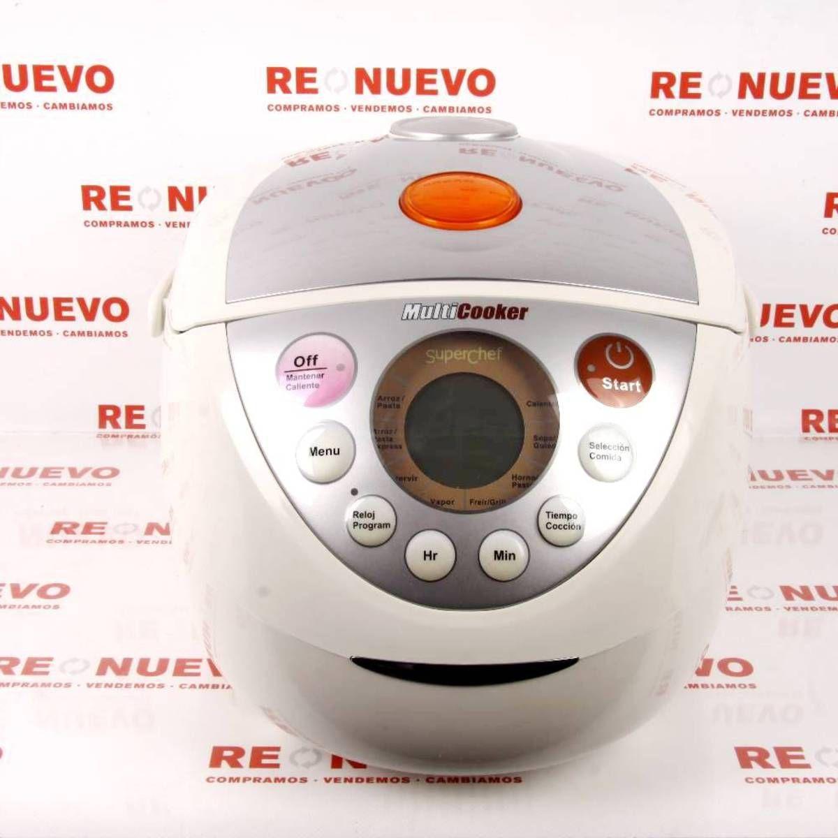 Robot de cocina superchef multicooker robot de cocina de segunda mano superchef hogar y - Maxicook superchef ...
