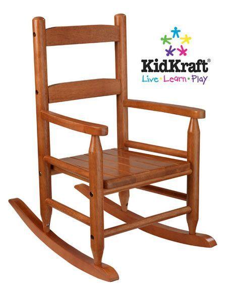 KidKraft 2-Slat Rocker - Honey 18123