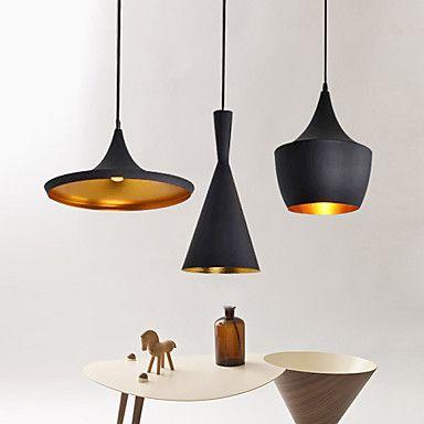 Contemporain traditionnel classique rustique vintage led m tal lampe suspenduesalle de - Luminaire suspendu chambre a coucher ...