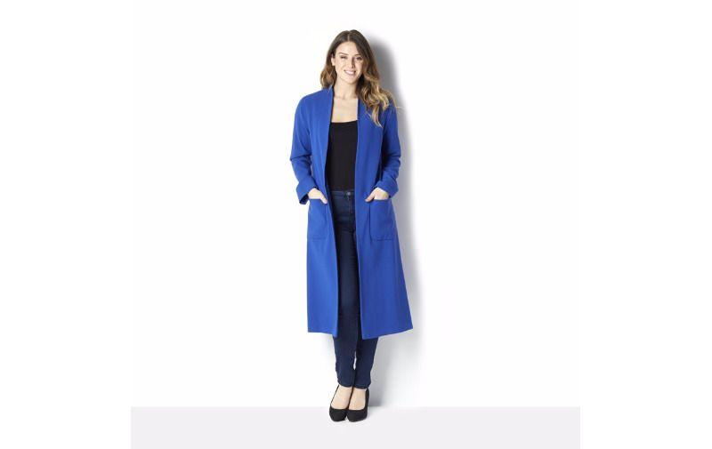076a97b55d8d Helene Berman Edge To Edge Longline Throw On Coat Size UK 18 LF079 HH 09   fashion  clothing  shoes  accessories  womensclothing  coatsjacketsvests  (ebay ...